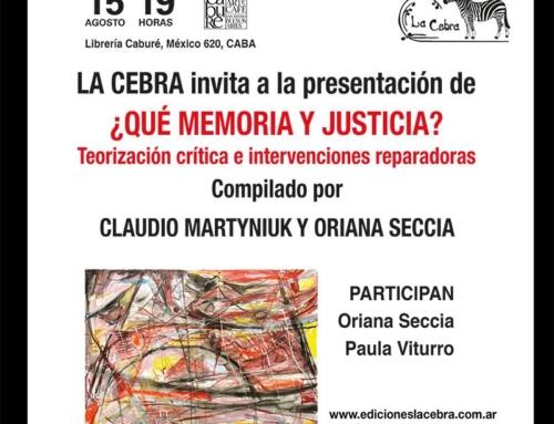 ¿que memoria y justicia?