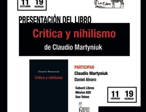 Presentación Crítica y nihilismo